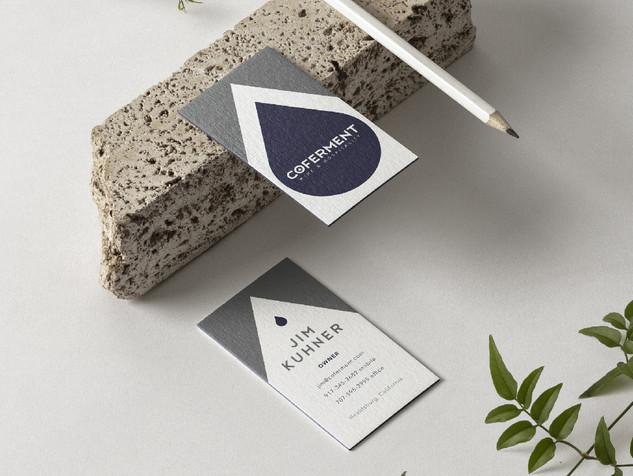 Coferment Business Card Design