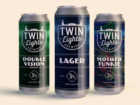 Local Brewery Product Packaging