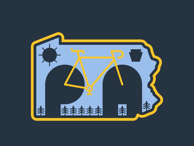 Pennsylvania Mountain Biking Badge