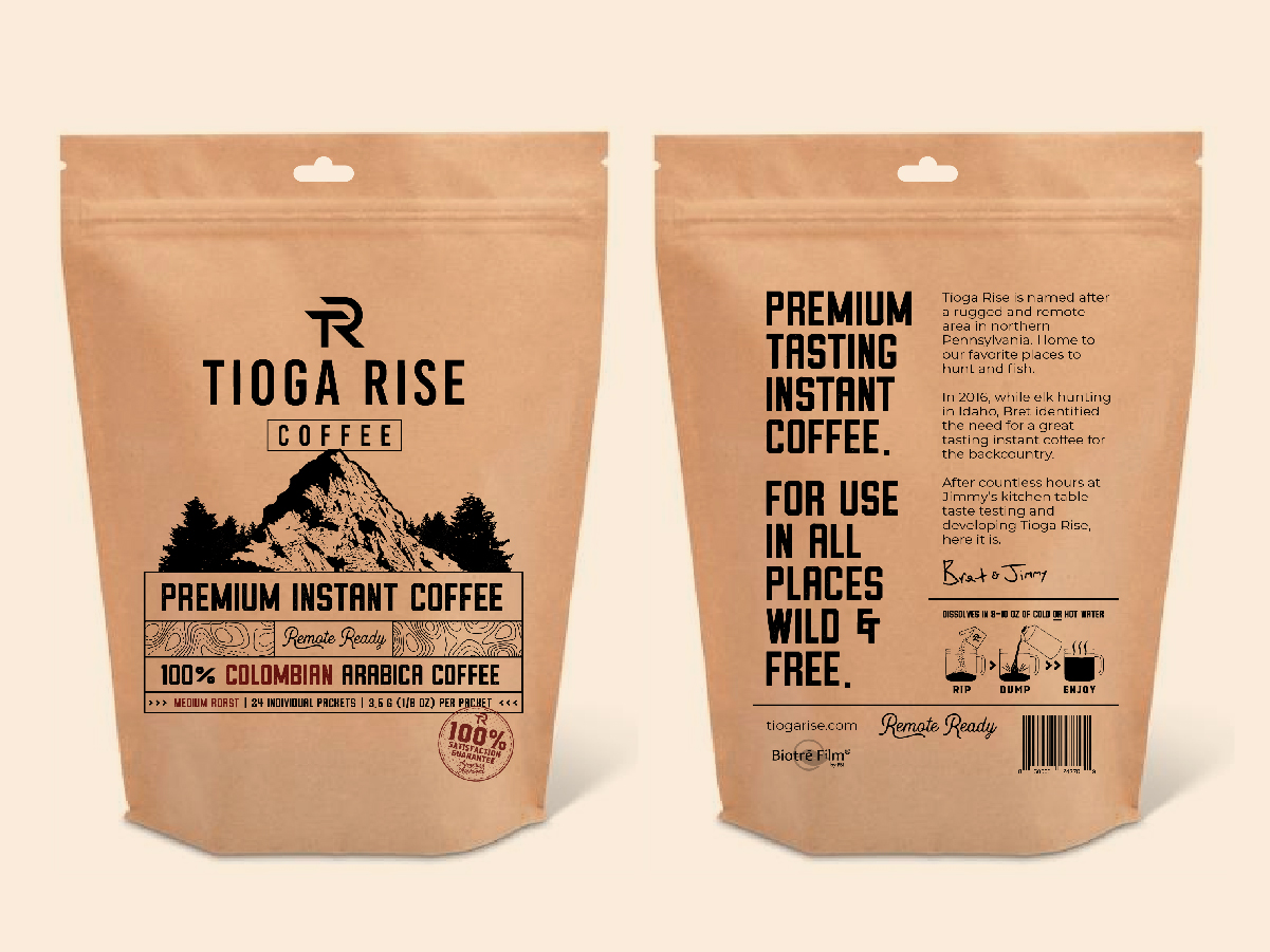 Instant Coffee Packaging Design