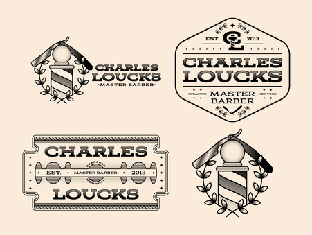 Logo and Brand Identity for Barber Shop