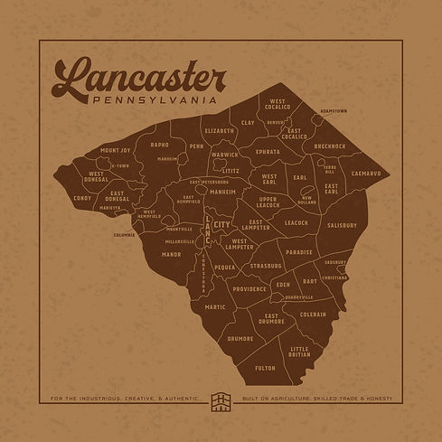 HuegelHandcrafted_Maps_LancasterCounty-0