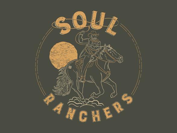 Heroes And Horses - Soul Rancher Non-Profit Shirt Design