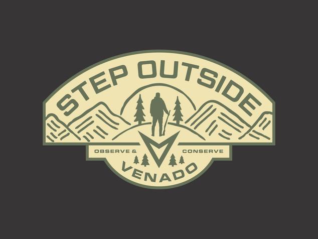Venado - Outdoor Badge Design