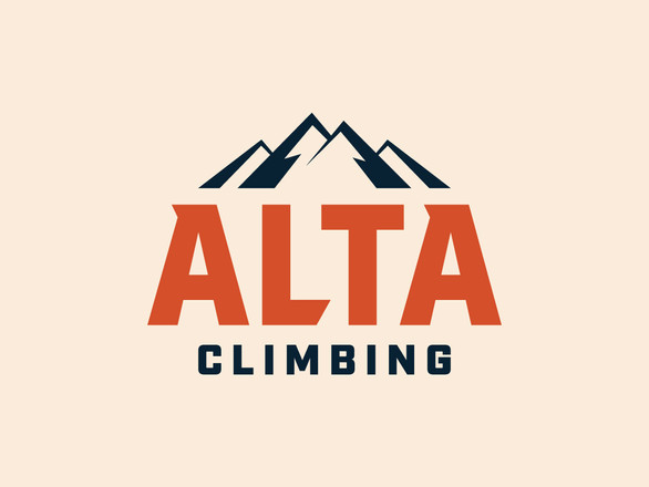 Mountain Climbing Logo Design