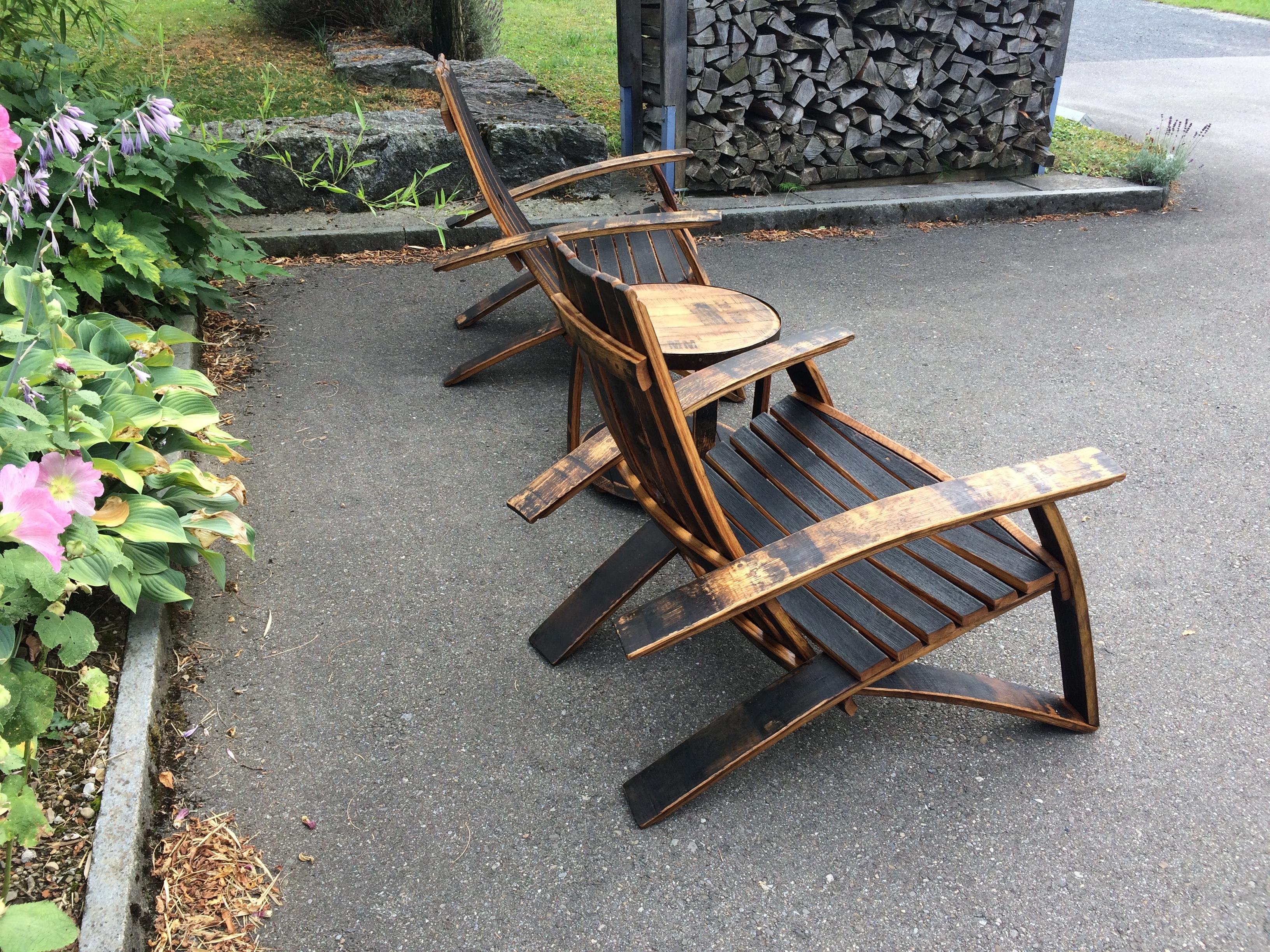 Bourbon Barrel Chair