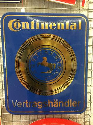 Continental-Emailschild