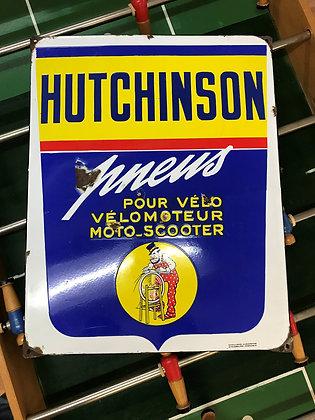 Hutchinson-Emailschild