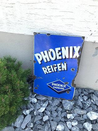 Phoenix Reifen-Emailschild