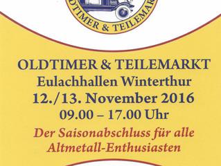 Oldtimer & Teilemarkt Winterthur