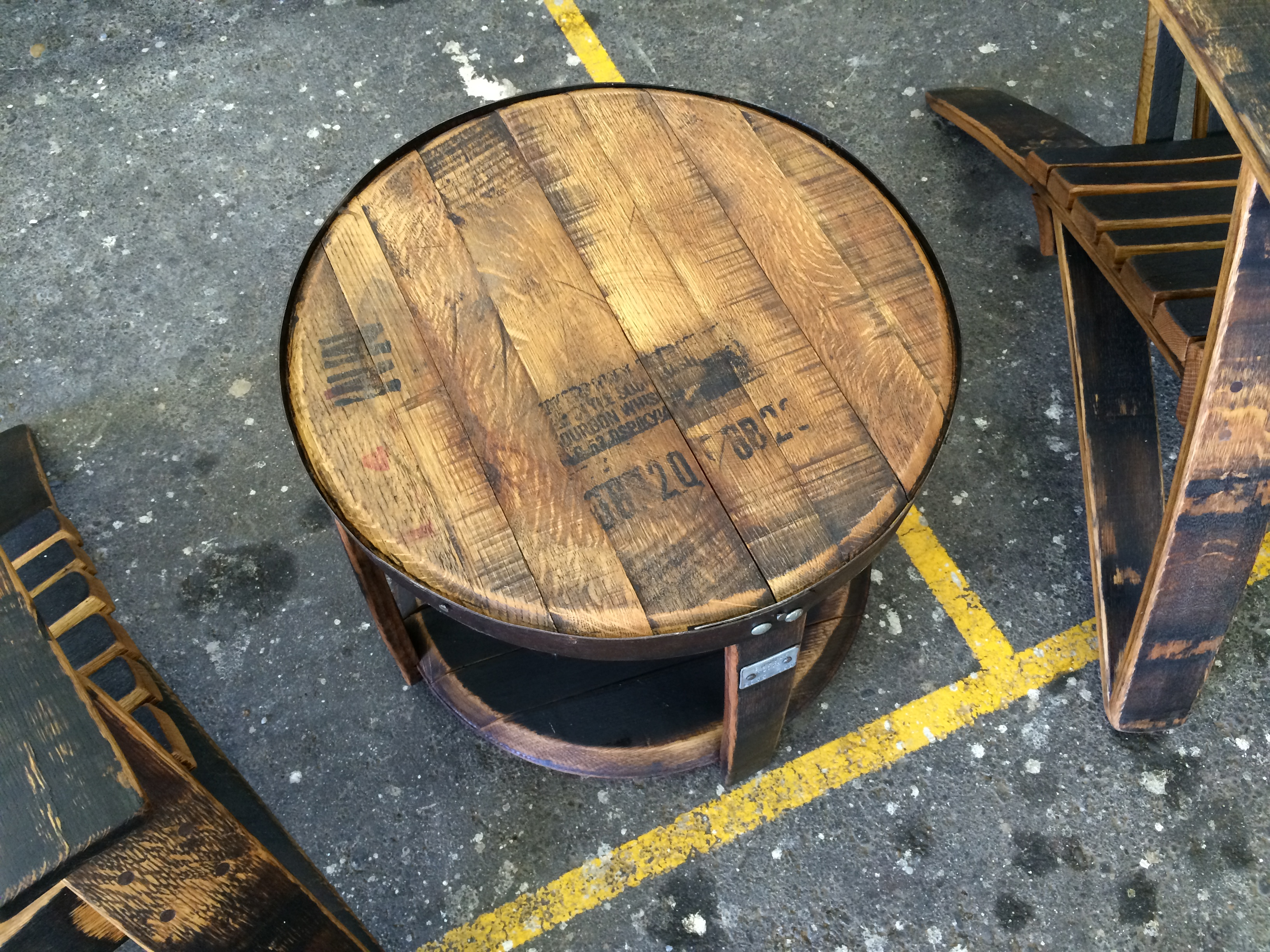 Bourbon Side Table