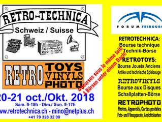 Retro-Technica/-Toys/-Vinyls/-Photos, Fribourg