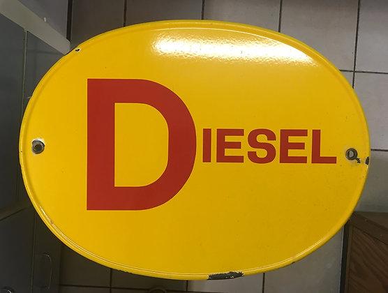 """Shell """"Diesel""""-Emailschild"""