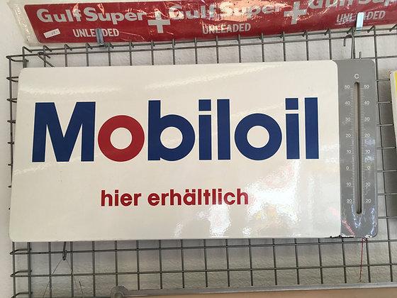 Mobiloil-Thermometer-Emailschild
