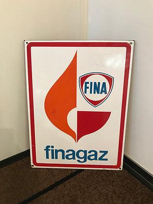 Fina-Emailschild