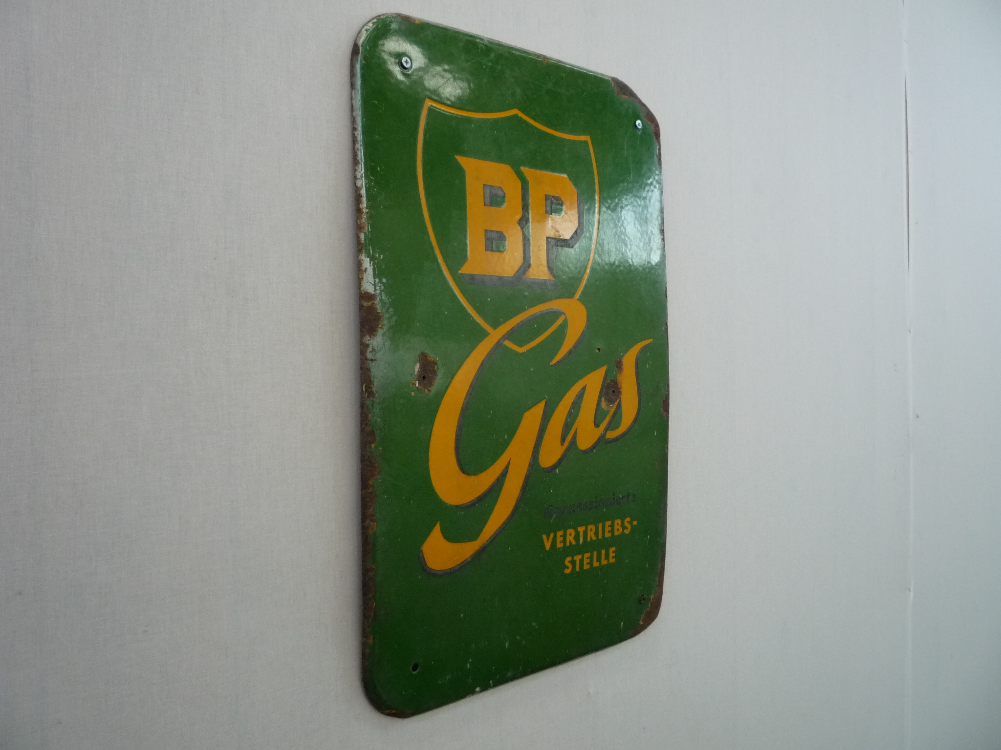 BP Gas Emailschild