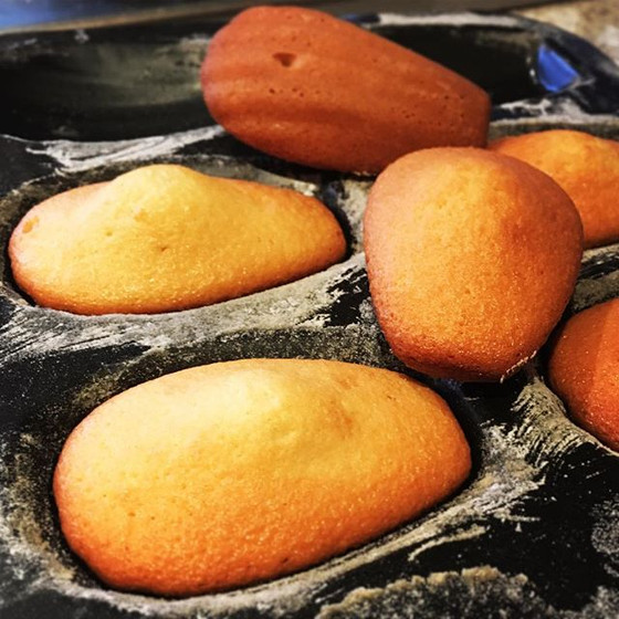 Recipe Hat-Trick #2: Blood Orange Madeleine