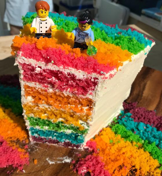 Prism Cake for #LGBTSTEMday