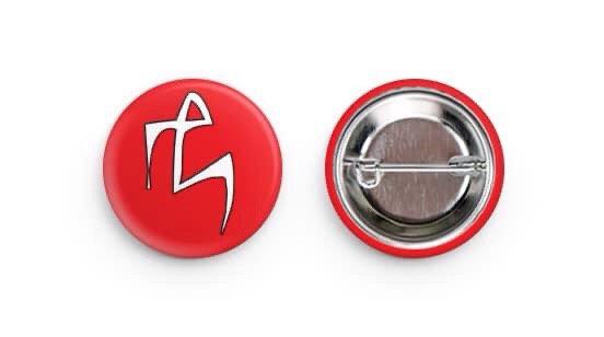 E logo button