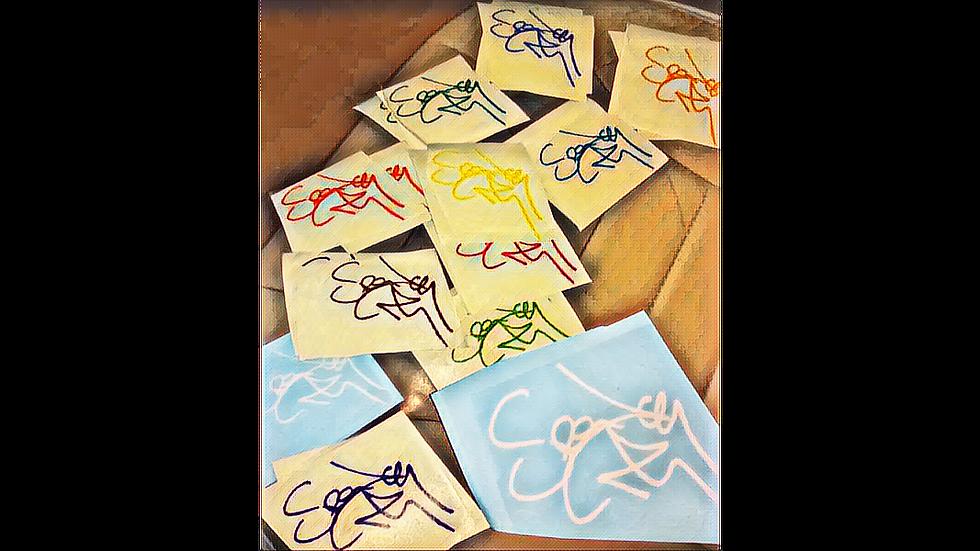 Crac Kajak autograph vinyl sticker