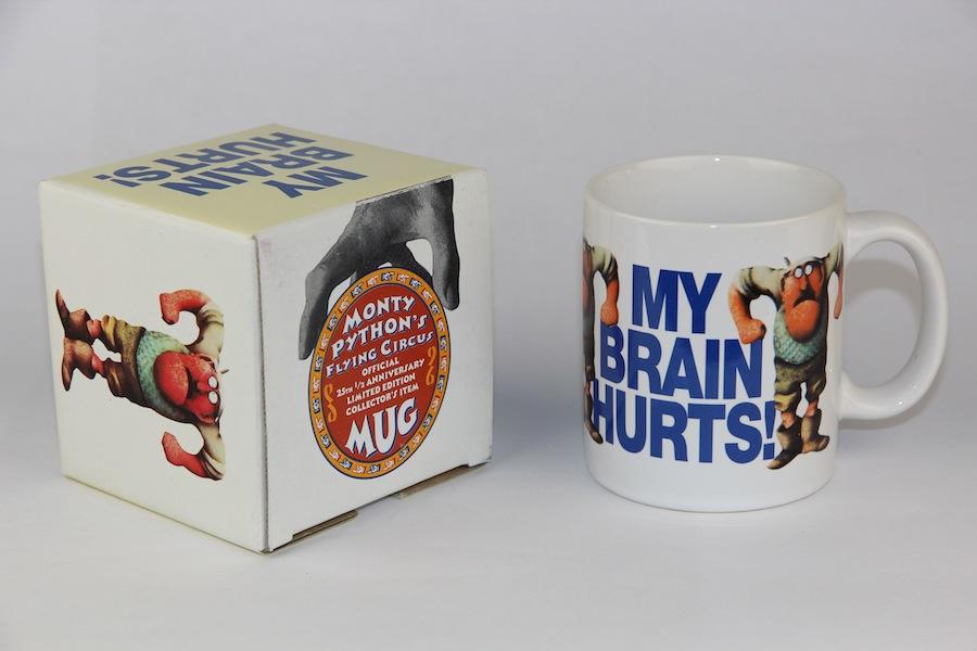 Monty Python Mug: My Brain Hurts