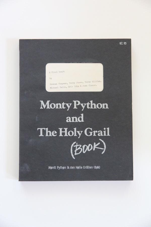 Original print Holy Grail Screenplay
