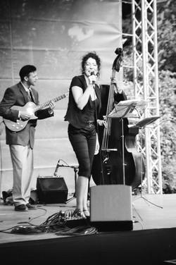 Jazztrio Viola-Jazz im Park Pankow