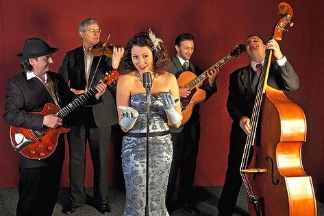 Hochzeitsband viola con Padrinos