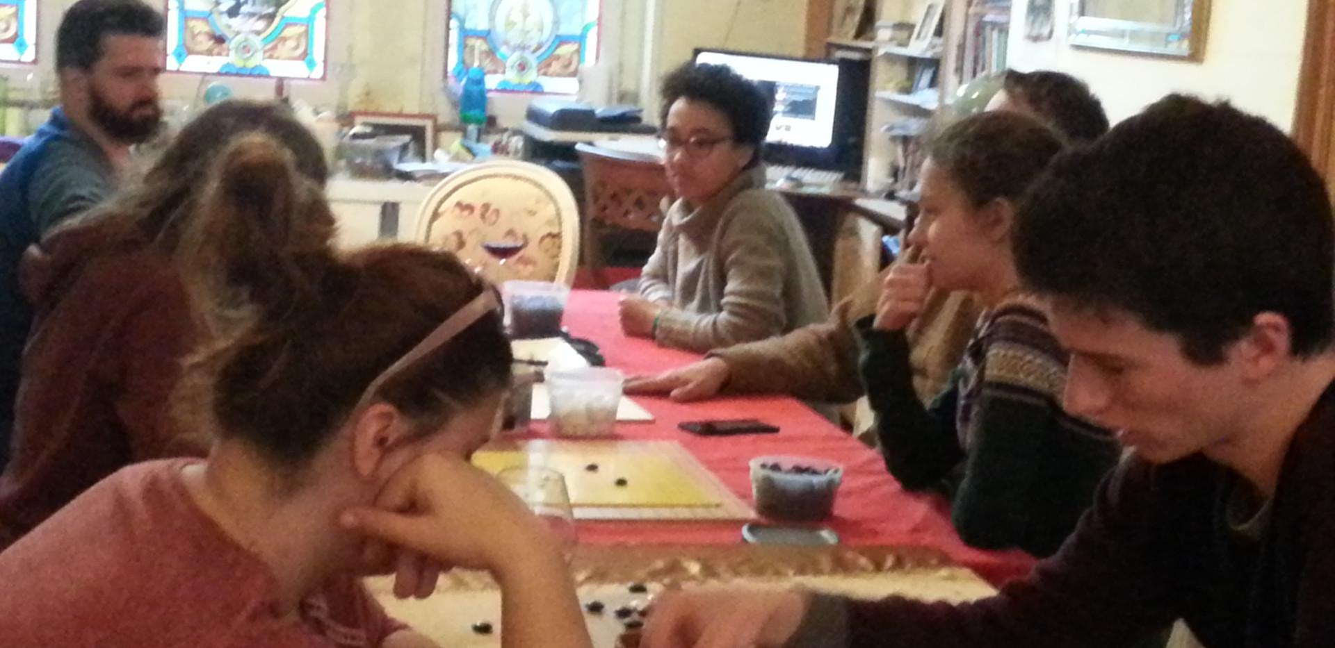 Atelier de baduk (jeu de go) avec le club le Kitani