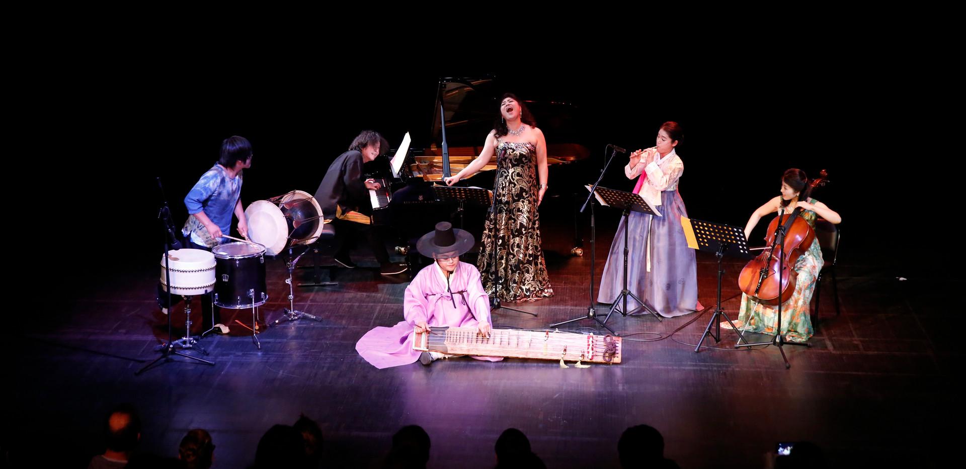Concert de musique d'artistes de la ville de Gwang-ju