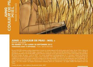 Exposition Couleur de Peau : Miel (1-28 septembre 2015) 피부색:꿀색 전시