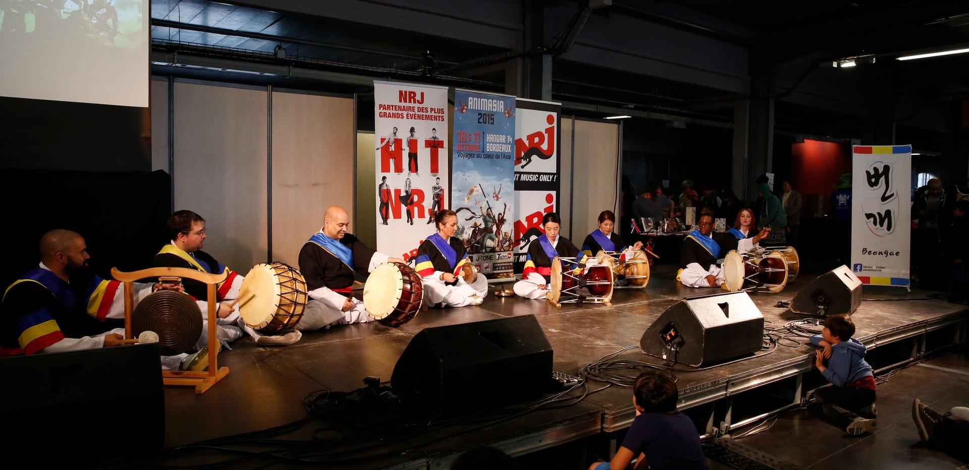 Samulnori (jeu à 4 percussions)