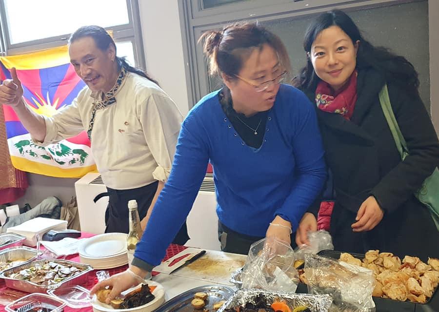 Le coup de pouce des Tibétains!