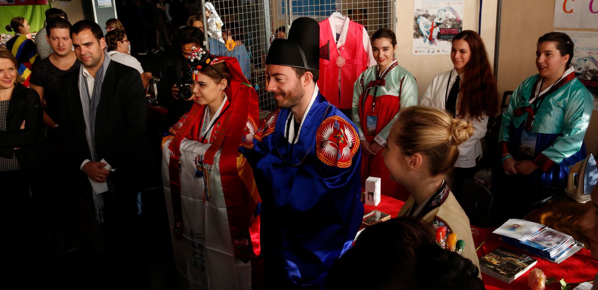 Hanbok des mariés!