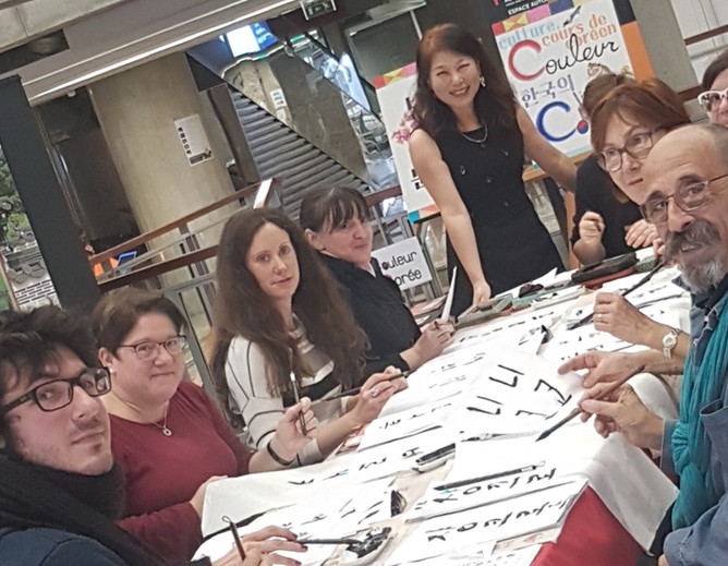 Initiation à la calligraphie à la bibliothèque de Mériadeck!