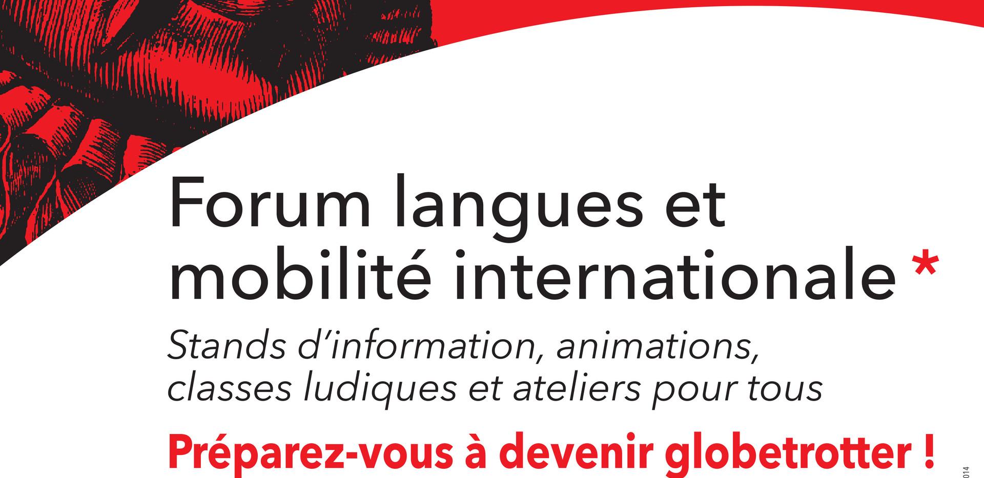 Participation au Forum langues et mobilité internationale