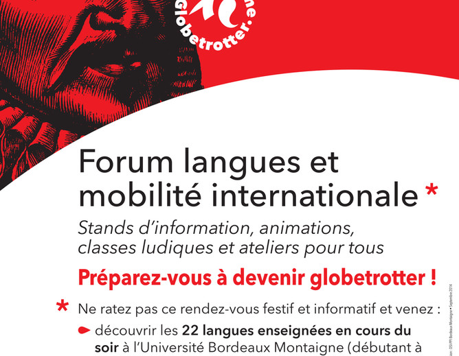 Participation au Forum langues et mobilité internationale