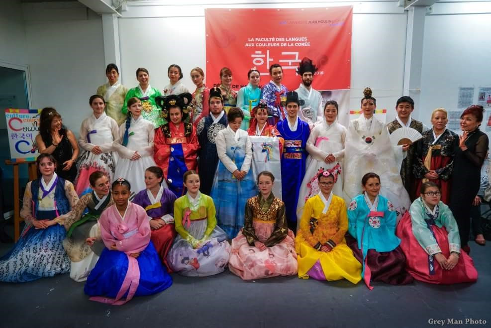 Défilé de Hanbok à Espace 29