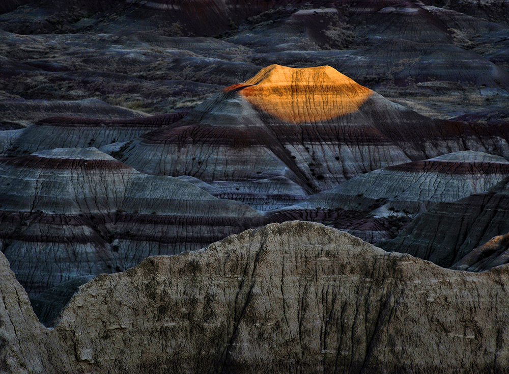 Last Light in the Badlands