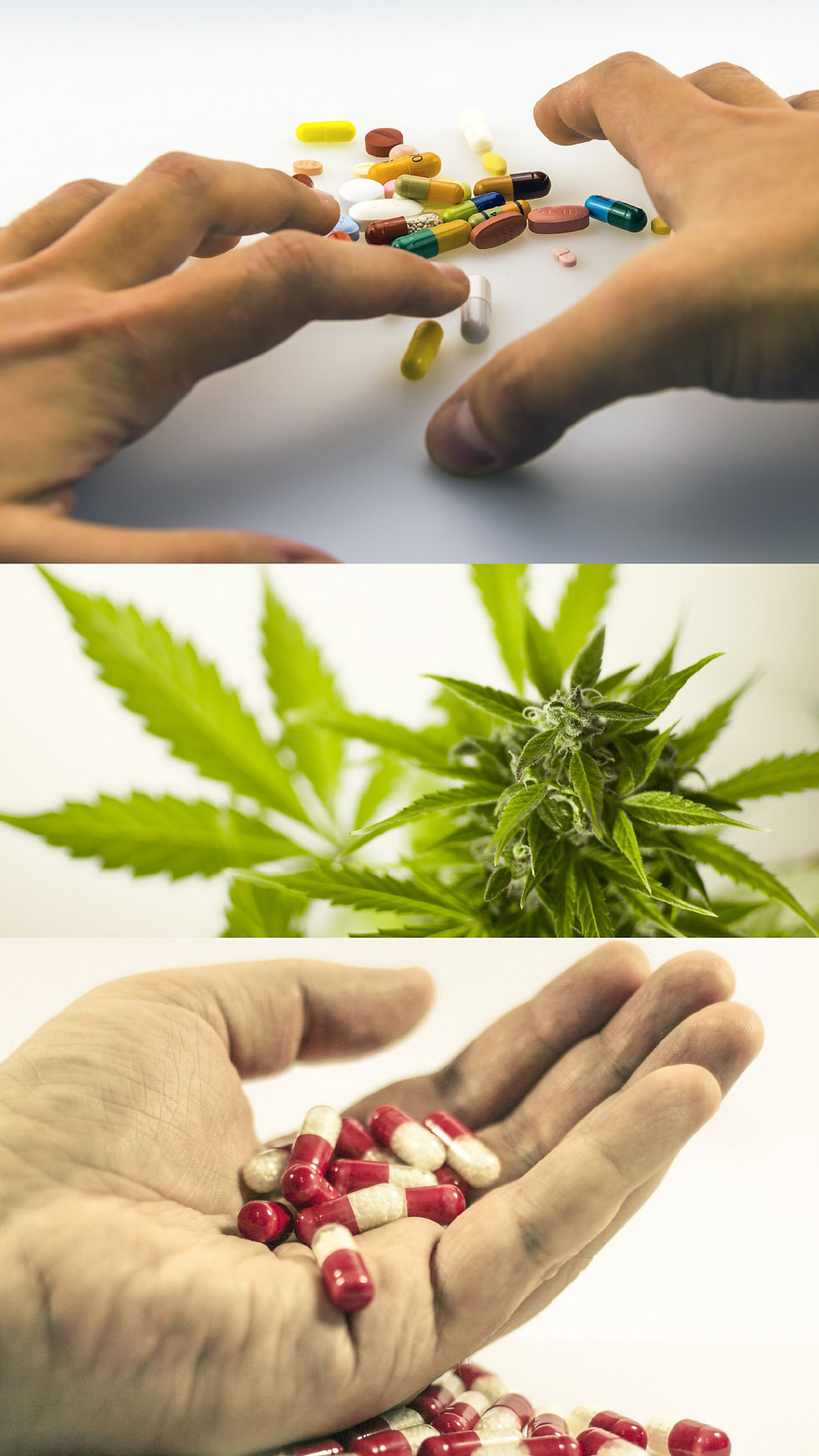 Foto de drogas en el fondo para el abogado de ley criminal Ricardo P. Hermida en Miami, Coral Gables, condado de Miami-Dade, Florida.