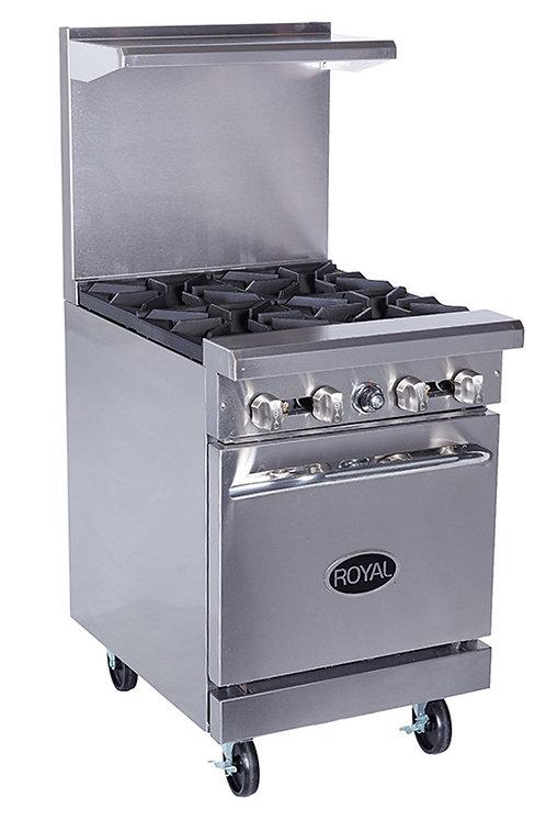Royal 4 Burner Range w/oven RR4