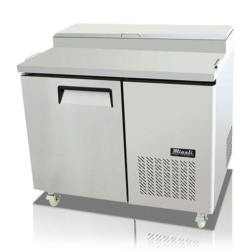 "Migali 44"" 1 Door Pizza Prep Refrigerator,  C-PP44-HC"