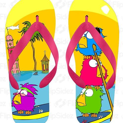 The Paddle Birdz | Flip Flopz