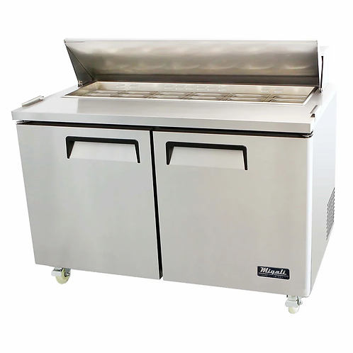 "Migali 60"" Wide Refrigerator, C-SP60-16-HC"