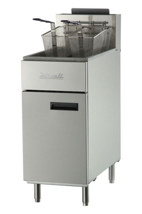Migali 50 lb Natural Gas Fryer C-F50-NG