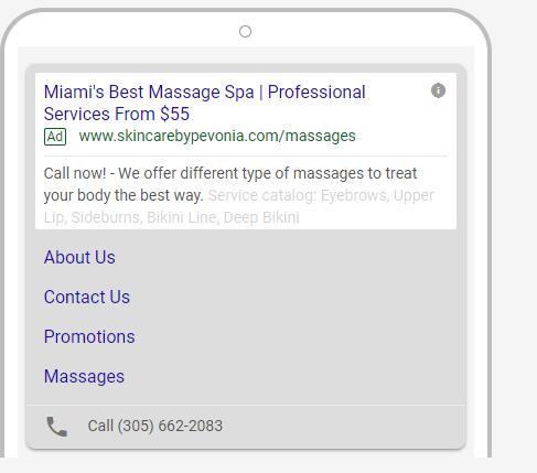 Skincare by Pevonia | Google Adwords