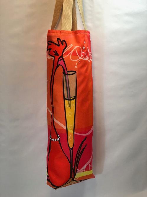 Champagne Bird | Wine & Spirit Carrier | Lined