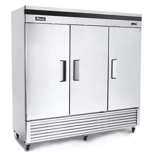Migali 3 Door Refrigerator C-3RB-HC