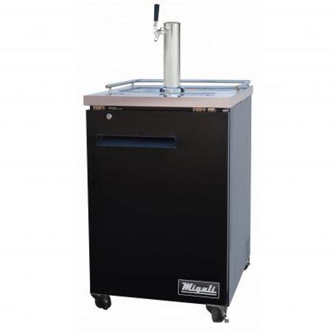 "Migali 23"" (1) Keg Direct Drawer Refrigerator C-DD23-1-HC"