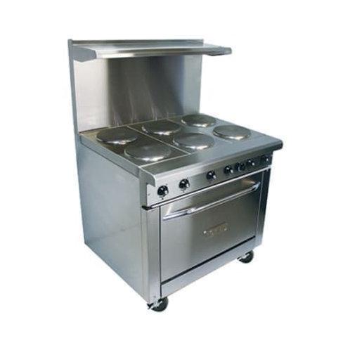 Royal Electric - 6 Burner Range w/ Oven